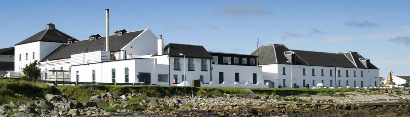 Distillery on Islay