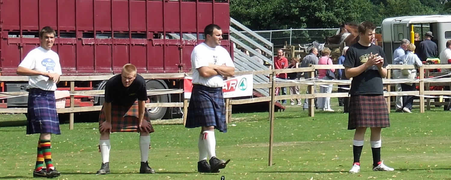 Highland Games Calendar July 2016