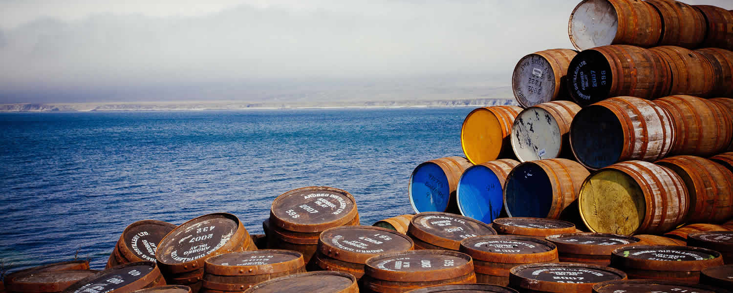 Whisky Distilleries in Scotland