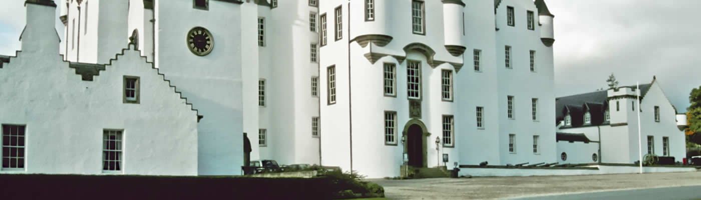 The Castle at Blair Atholl