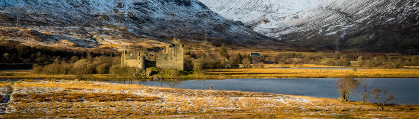 West Highland Lochs, Mountains & Castles Day from Edinburgh