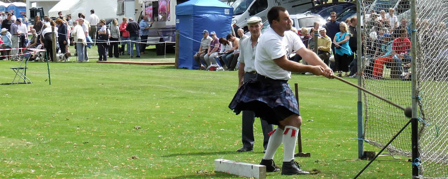 Highland Games Calendar May 2016